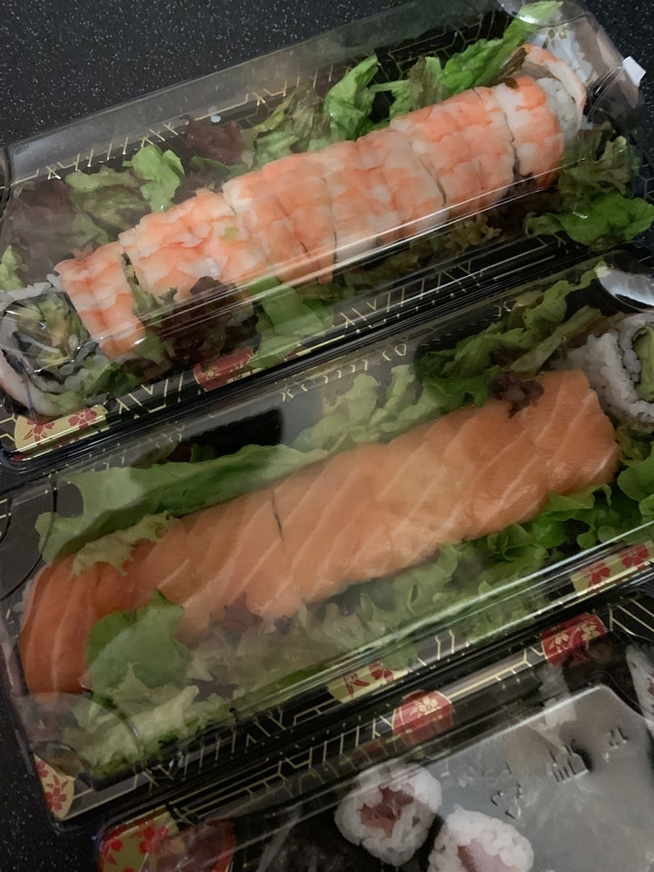 4 x sushi from selfridges