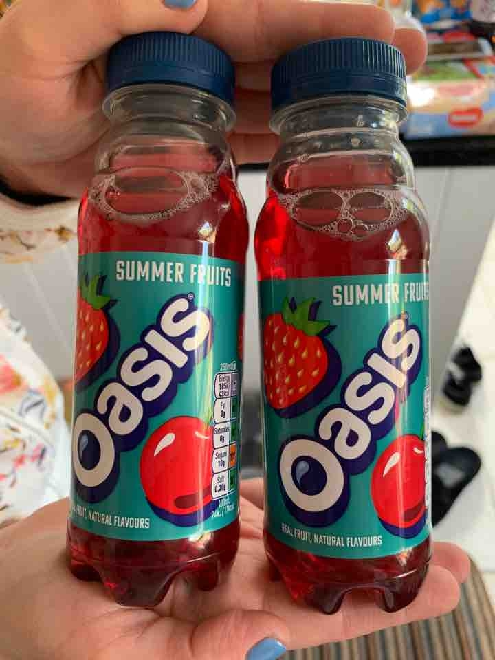 Mini oasis summer fruits