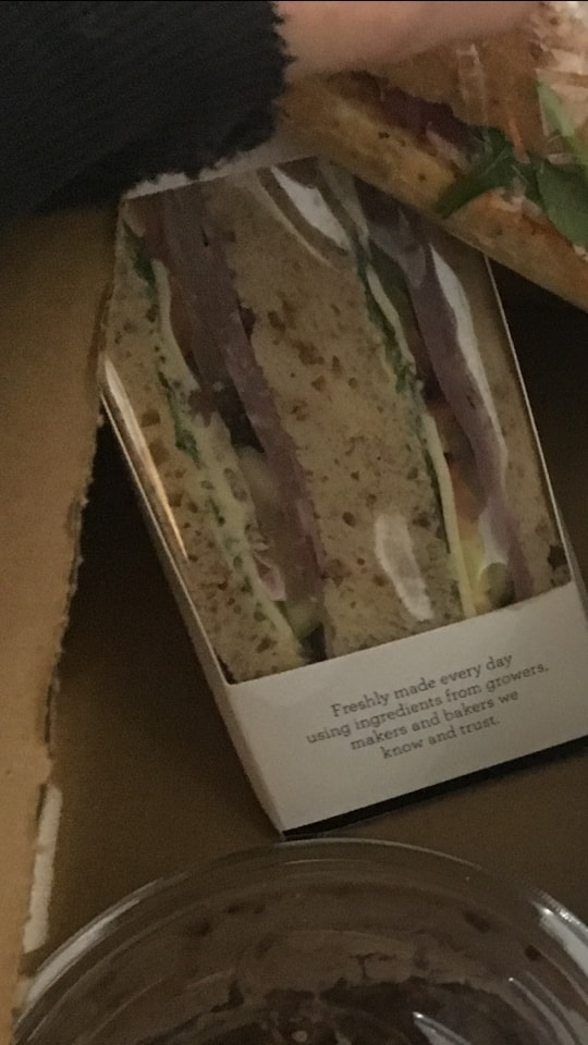 Friska New York sandwich