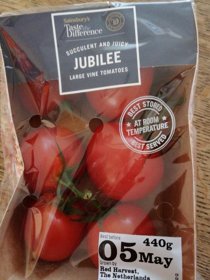 Large vine tomatoes.