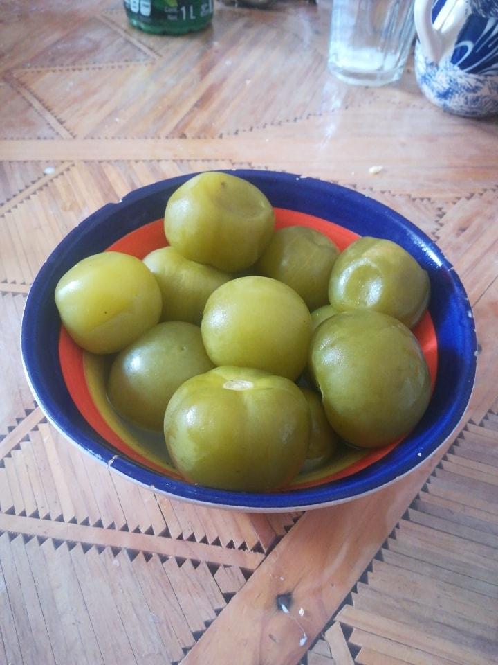 Tomates hervidos