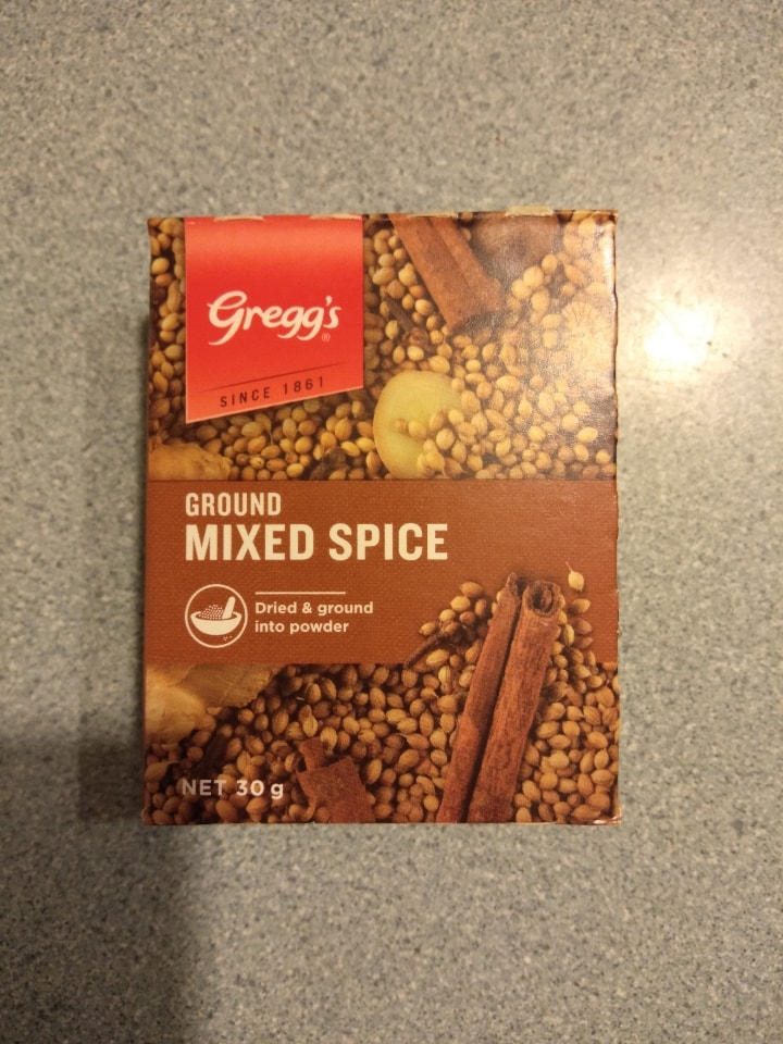 Ground Mixed Spice 30g