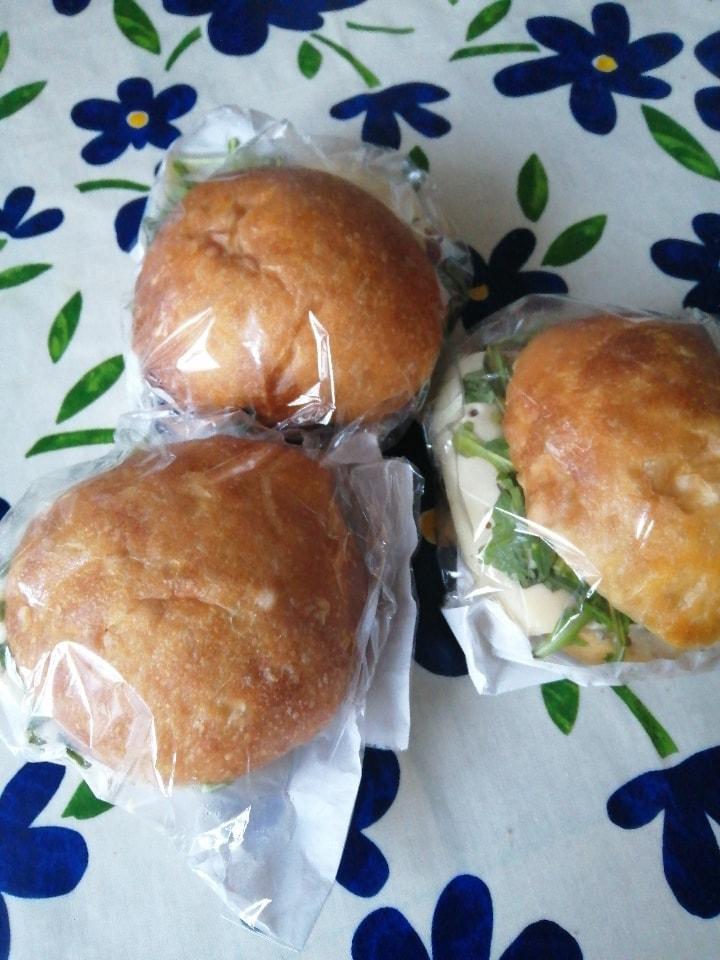 Flourpot sandwiches