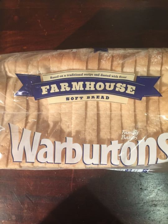 large loaf Warburtons farmhouse bread