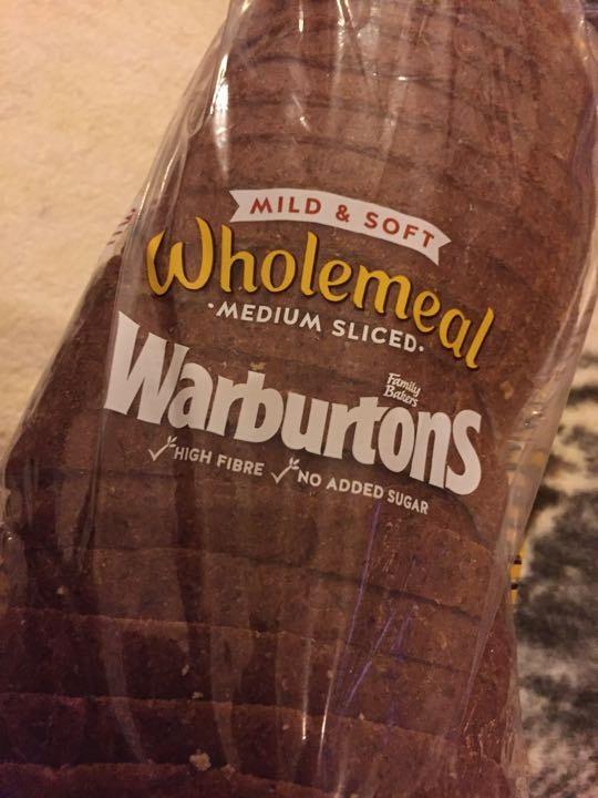 Warburtons wholemeal loaf