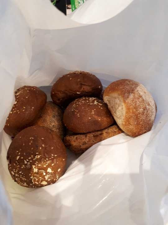 Bread rolls from Pesso