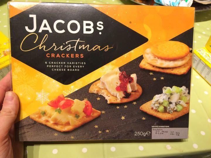 Jacobs crackers Christmas box