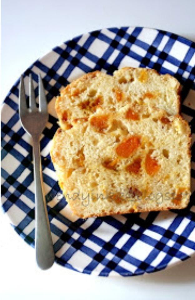Apricot yoghurt cake - dairy free - #cook4kids