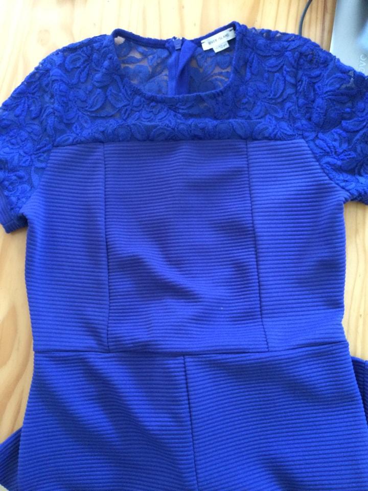 11/12 years blue dress
