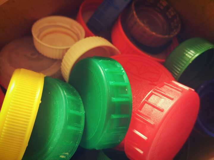 Don't throw away bottle tops - collect them