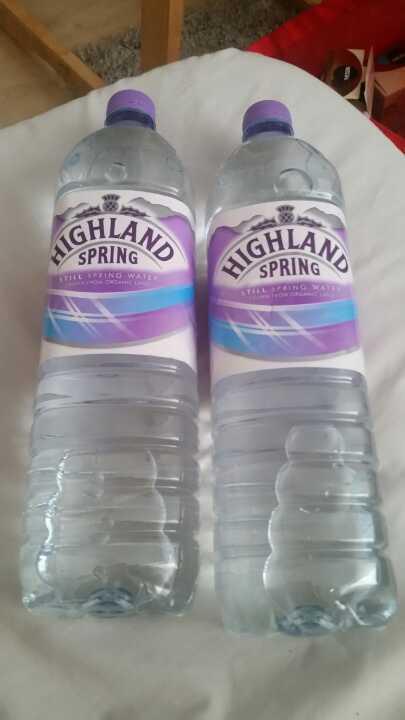 Higlands water from Coop