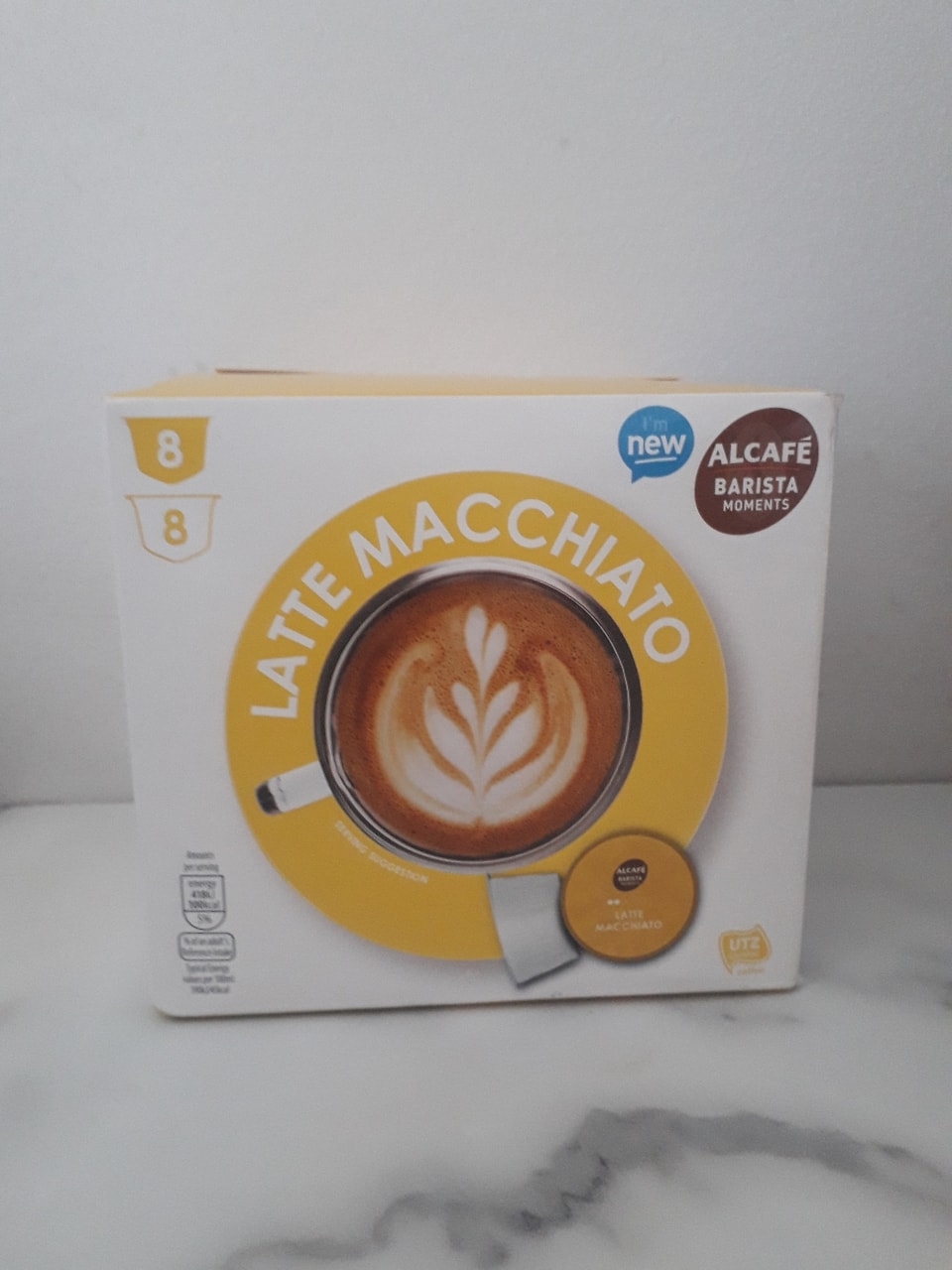 Latte Macchiato capsules