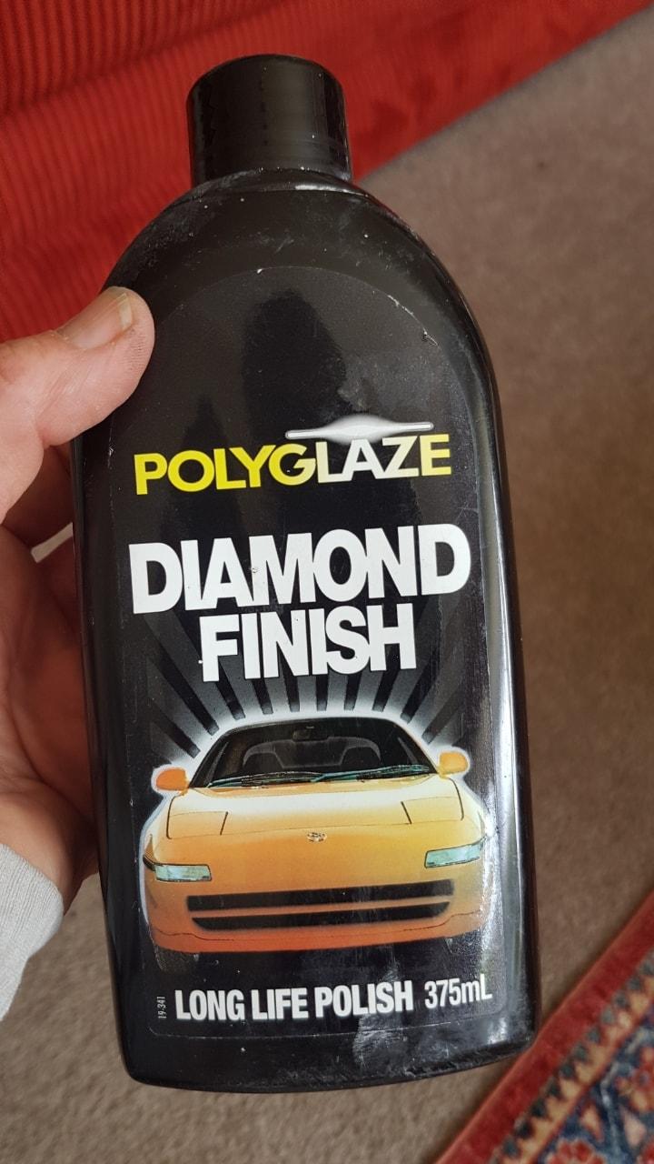 Car polish half full