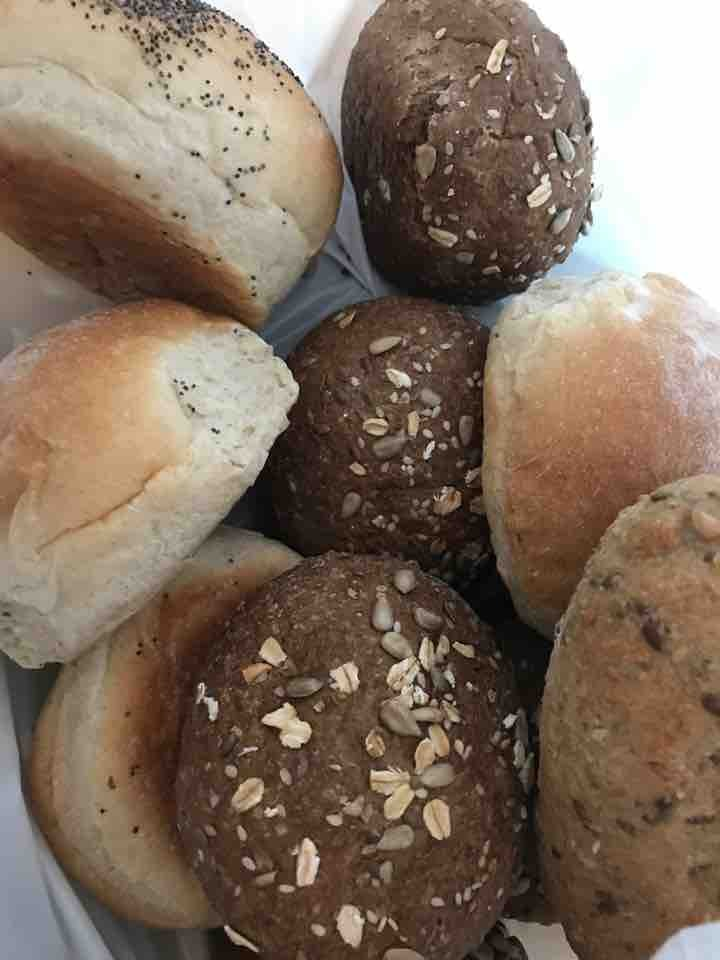 Mixed buns from Pesso bageri