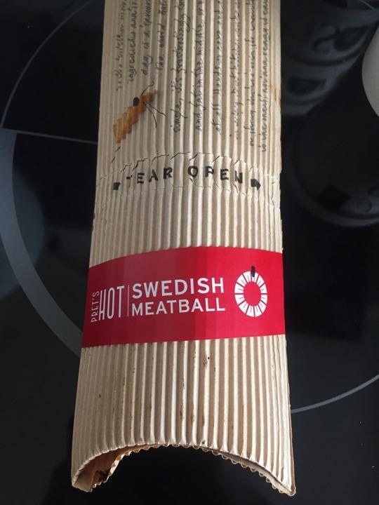 Pret swedish meatball wrap