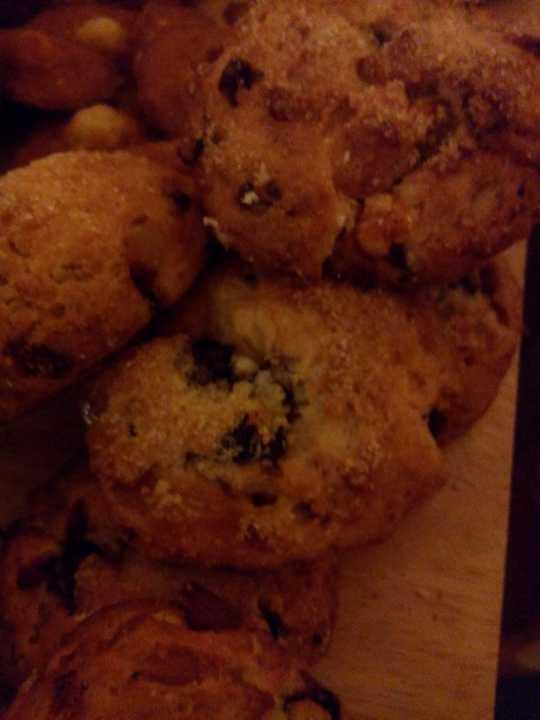 Drop scones with fruit
