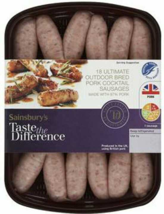 Taste the Difference Sausages