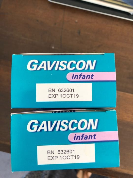 Infant gaviscon 2 boxes