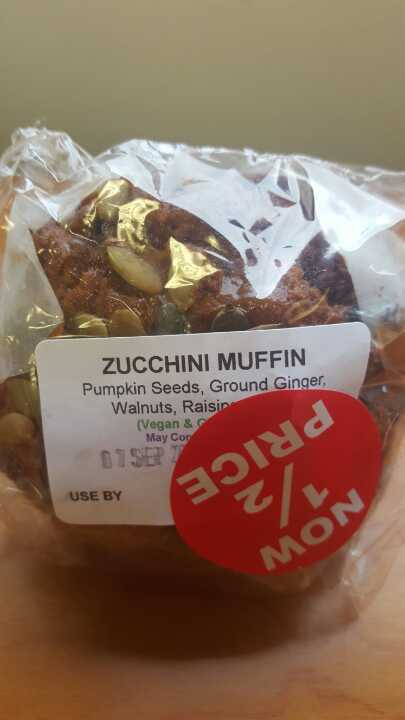 Zucchini muffin