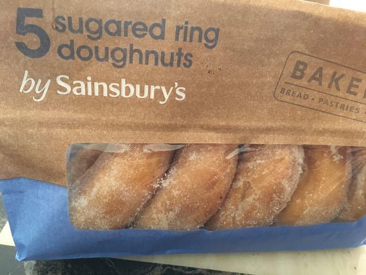 Sugared ring doughnut