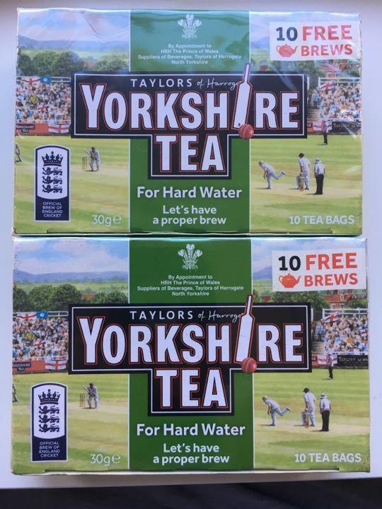 Yorkshire tea hard water area 20 bags