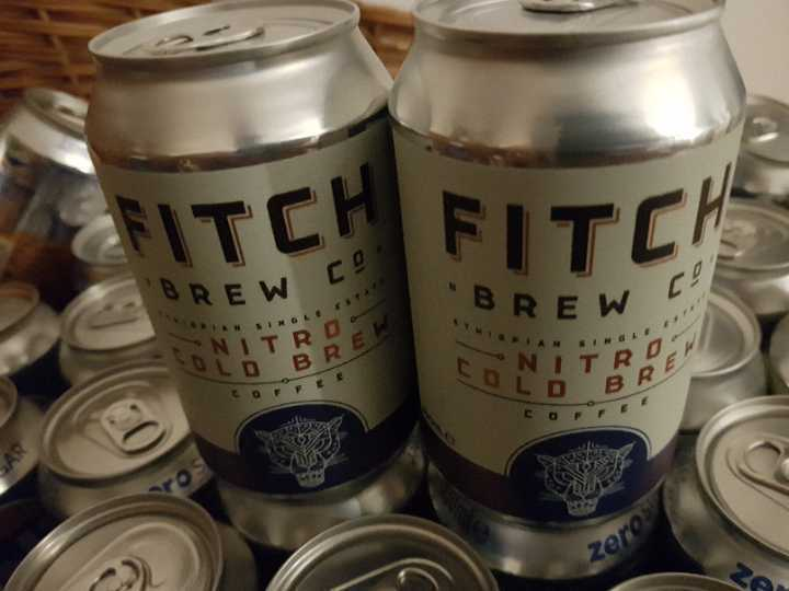Nitro cold brew coffee x 4 cans