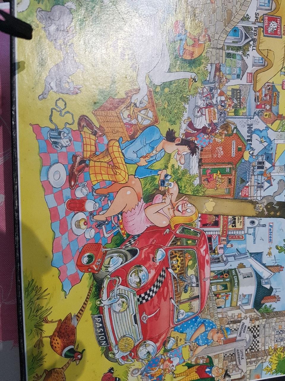 Jigsaw picnic