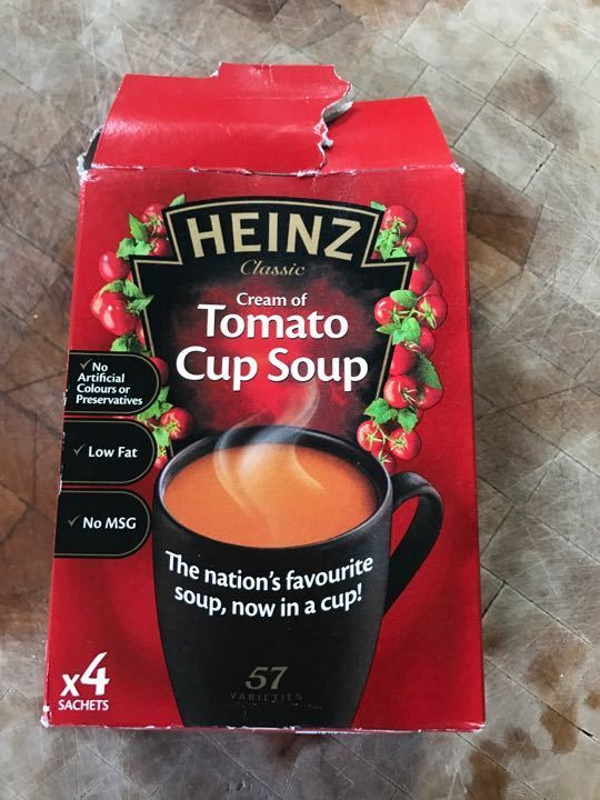 Heinz cream of tomato cup a soup