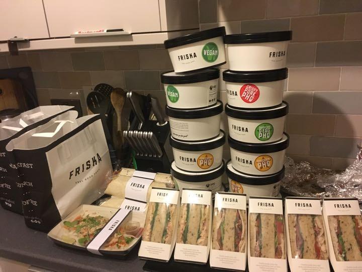 Friska surplus food available Wednesday 8.30pm @M1