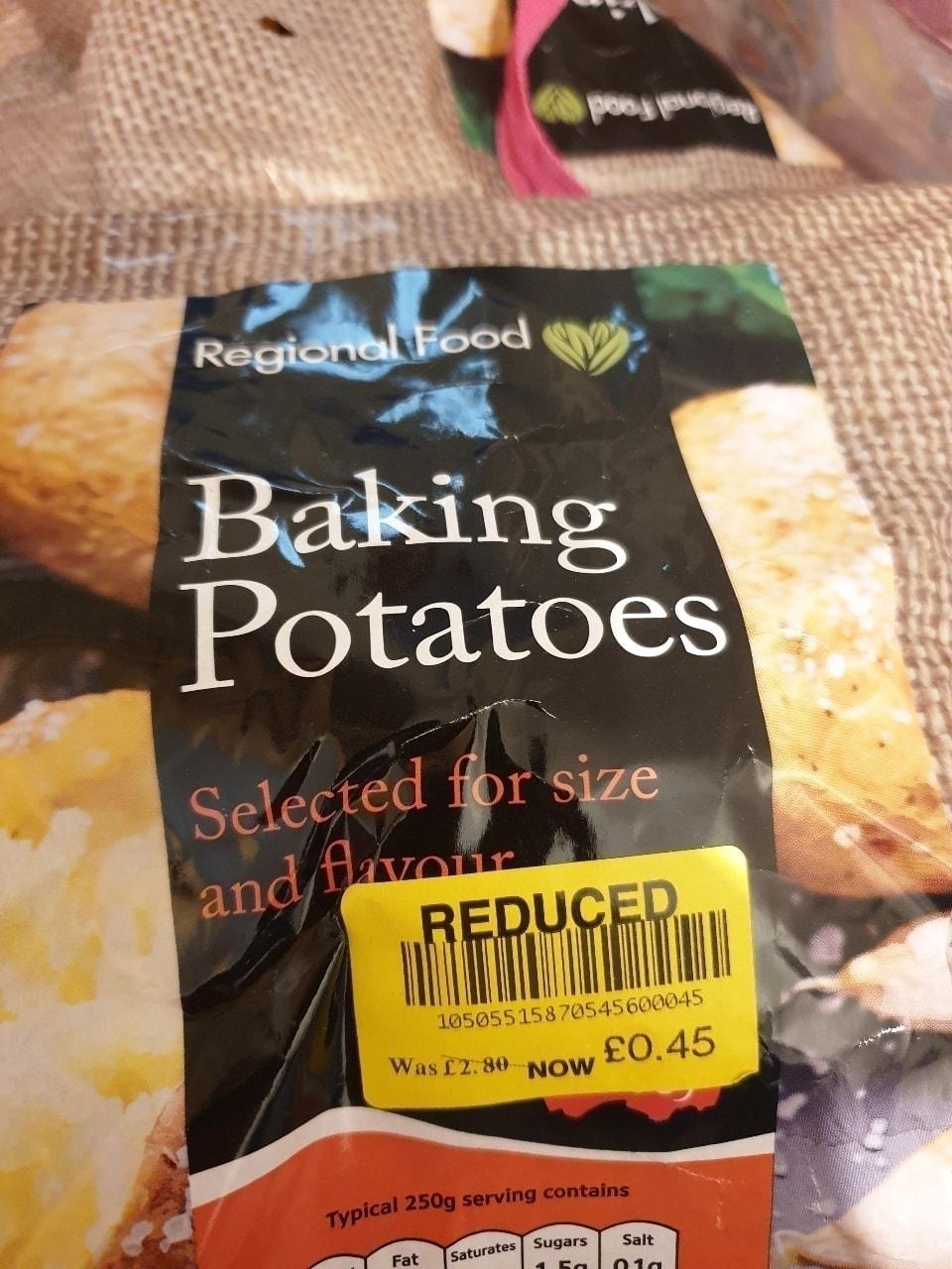 Baking Potatoes