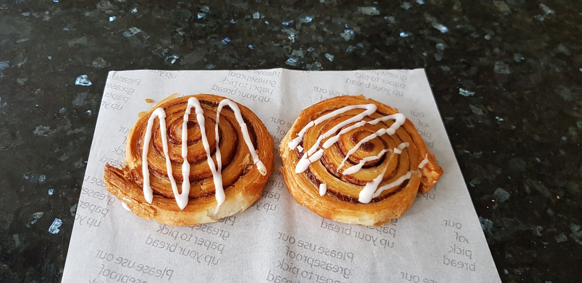 2 x Cinnamon Swirls