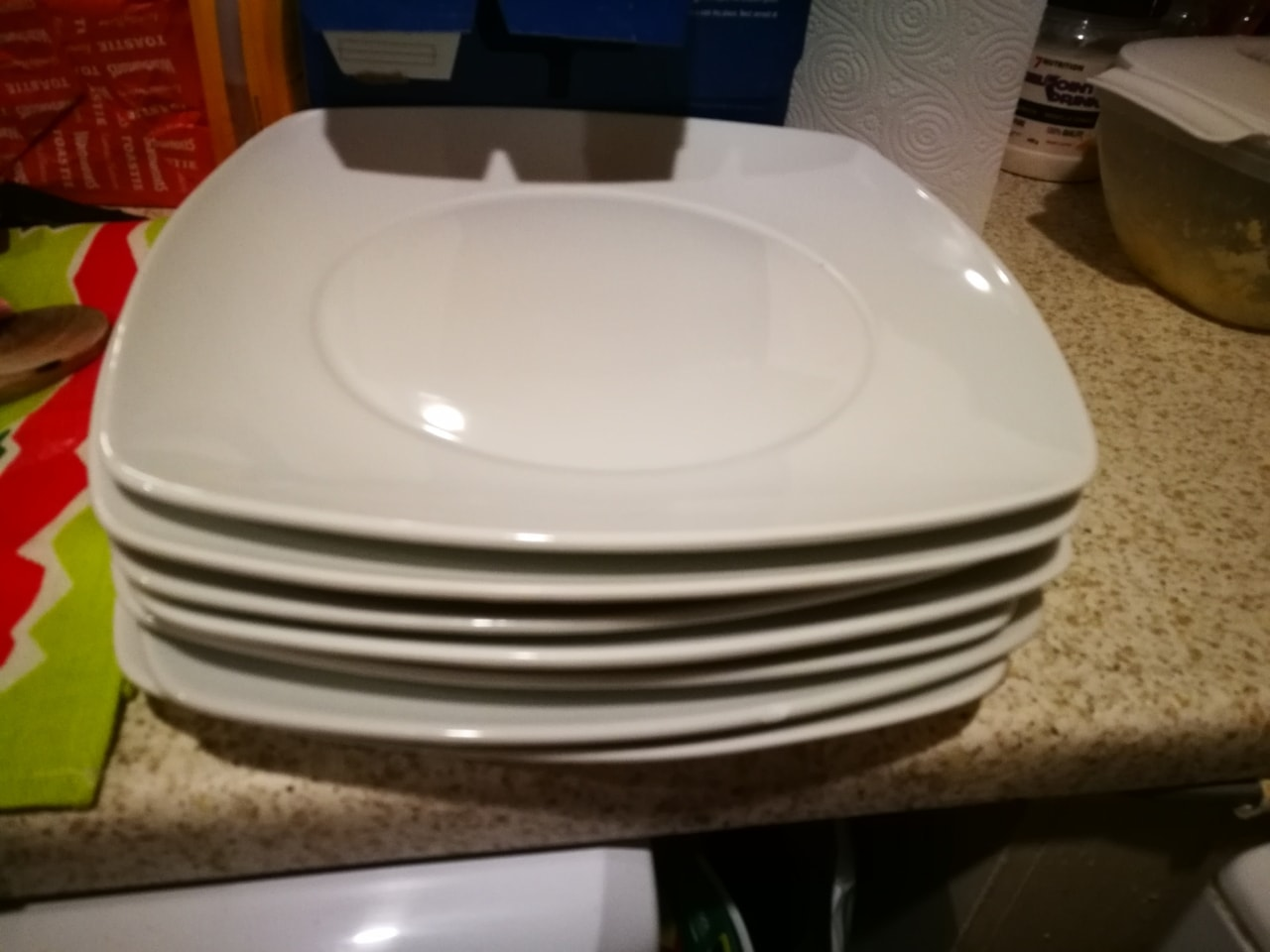 7 plates NEVER USED