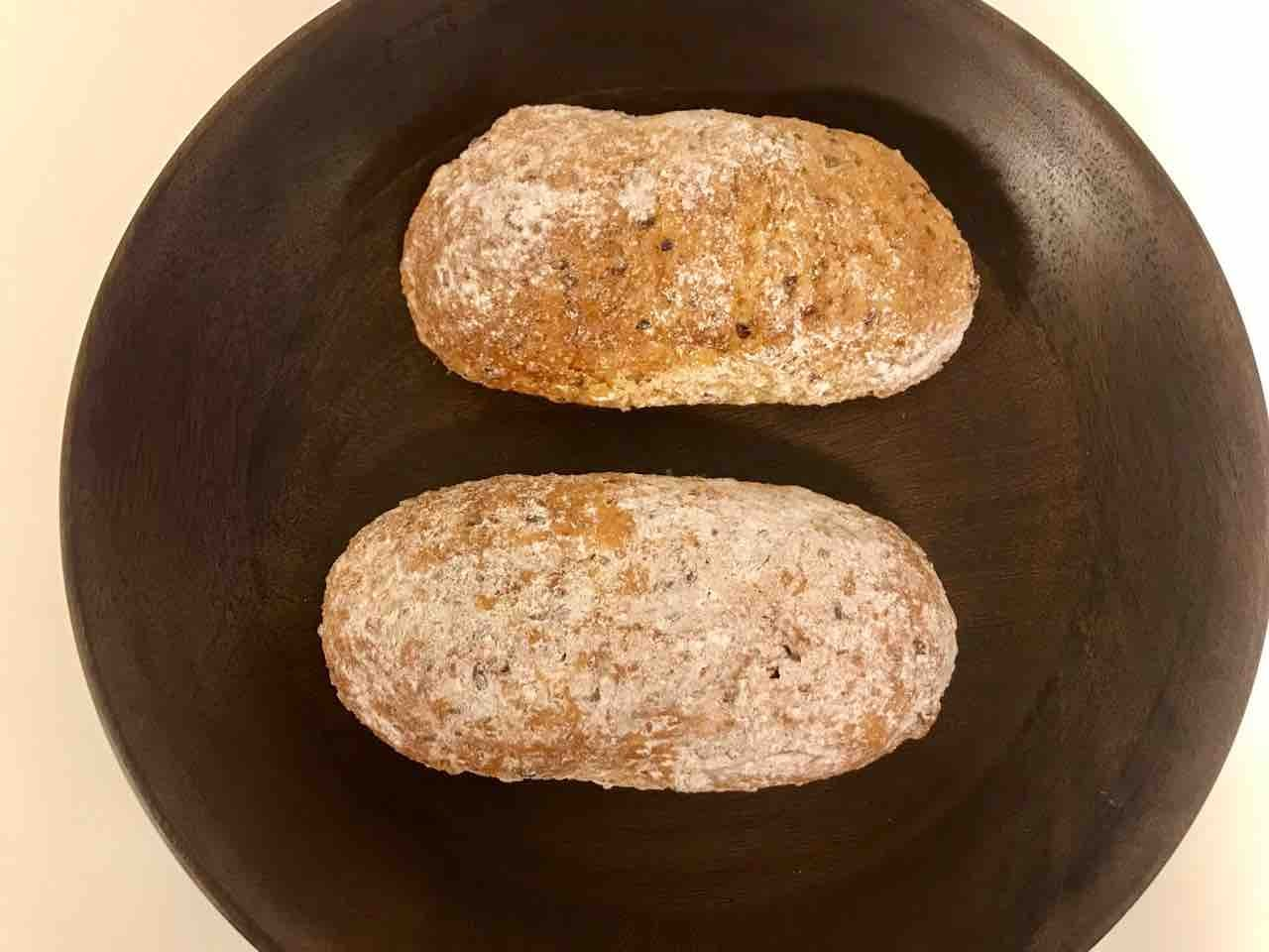 Fresh cereals bread from Pesso (30/04)