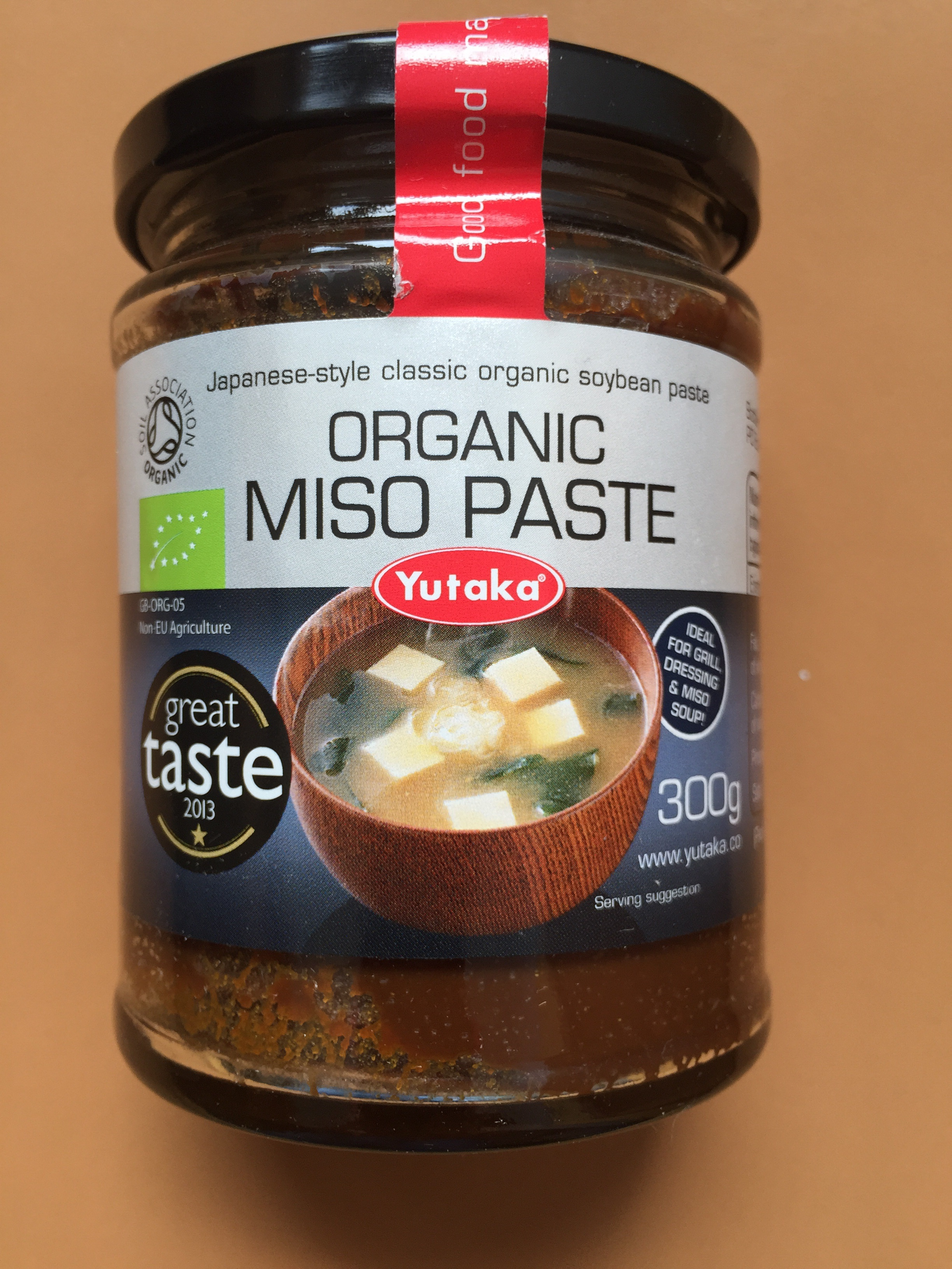 Organic miso paste