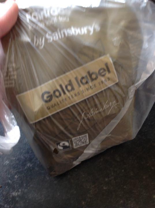 Gold label loose tea