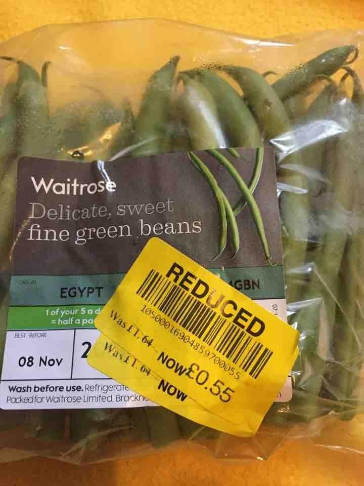 Fine green beans