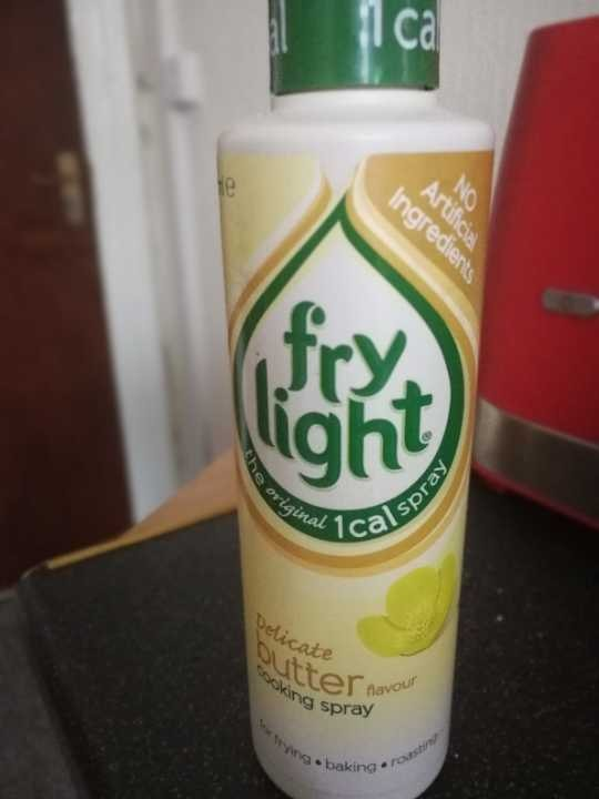 Fry Light butter flavoured cooking spray
