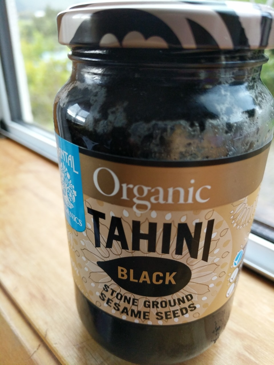 Black Stone ground sesame seeds