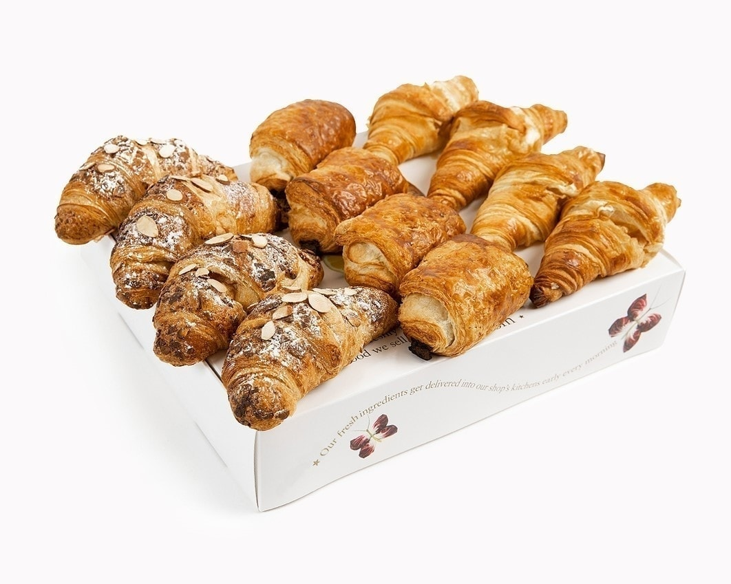 Pret croissants, pastries and biscuits