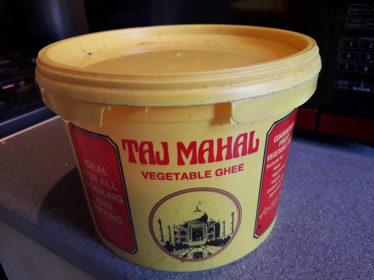 Vegetable ghee
