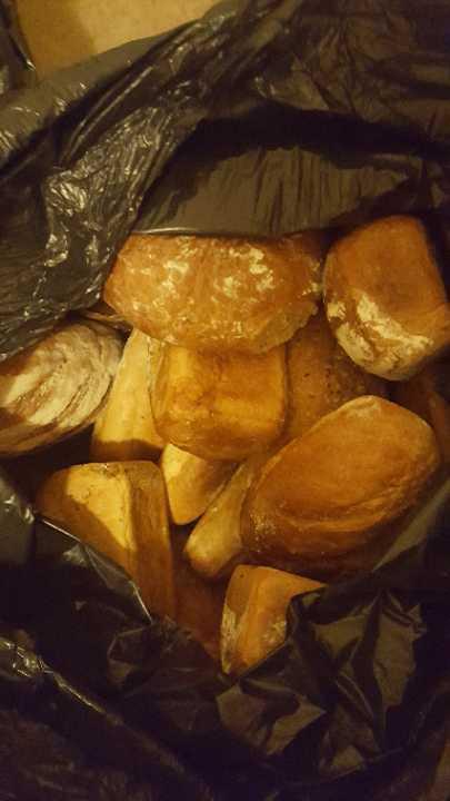 Mix of polish bread