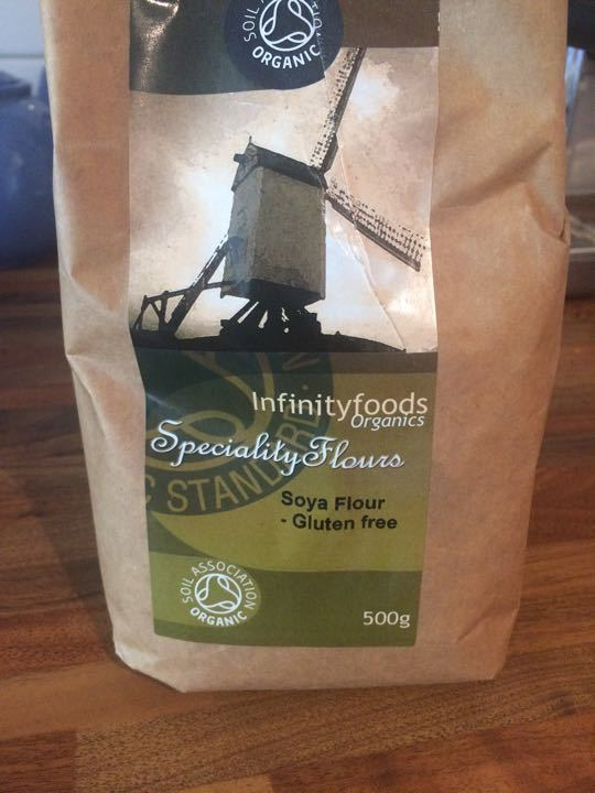 Organic Soya Flour - Gluten Free