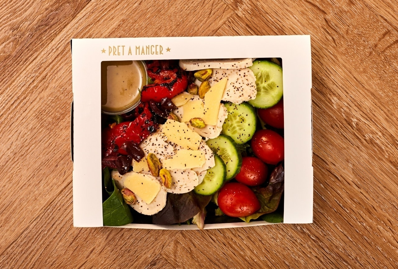 Pret SALADS available