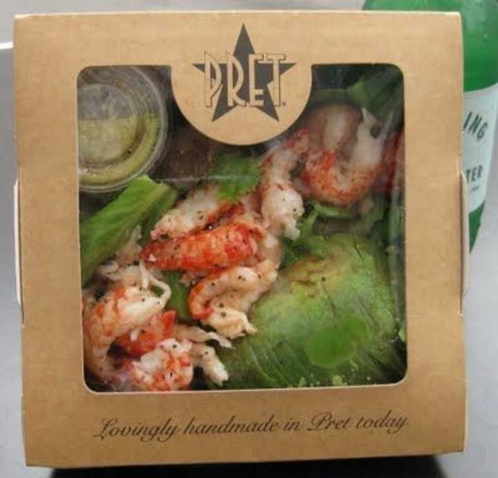 Selection of Pret Salad Boxes