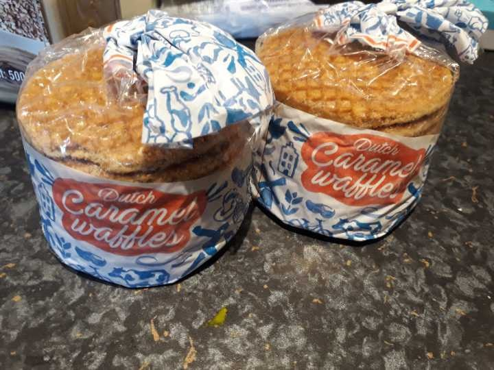 OOD Dutch caramel waffles