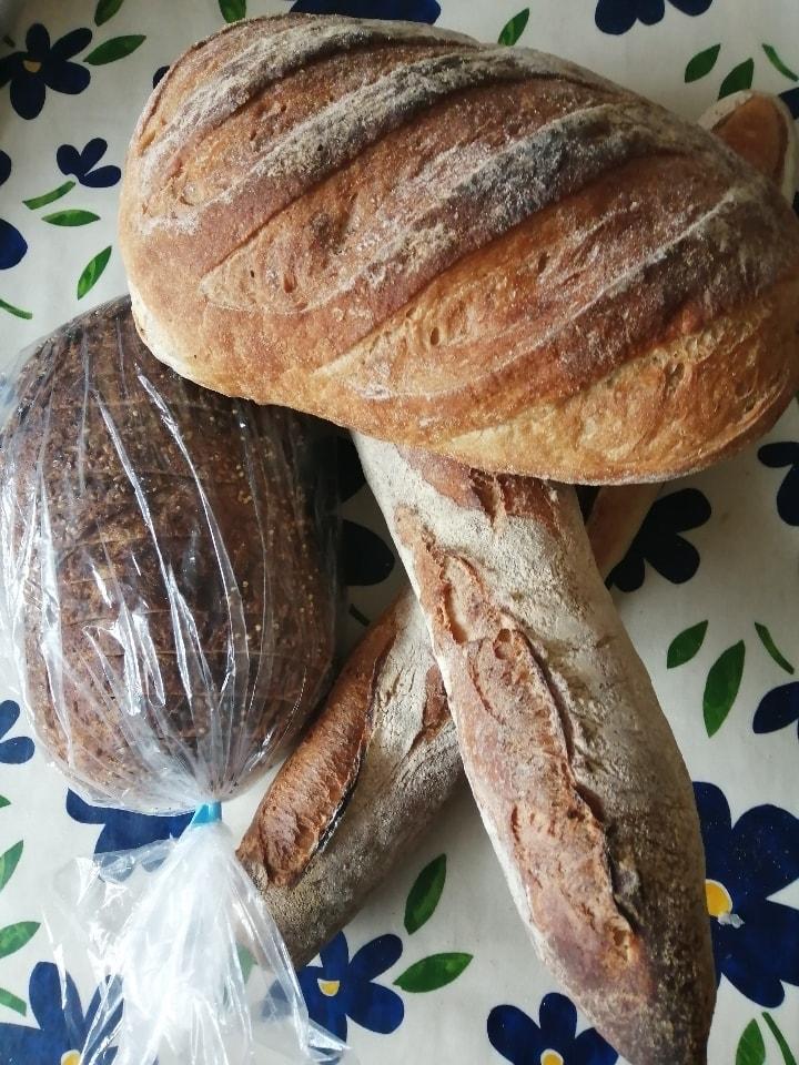 FlourPot bread x 6 loaves (vegan)