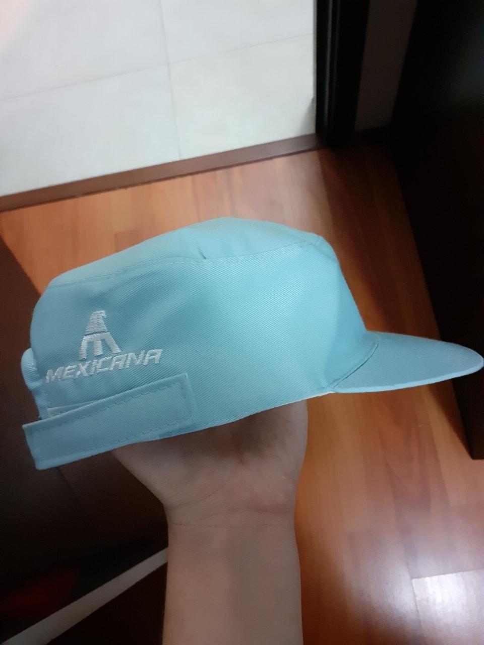 Gorra con logo de mexicana