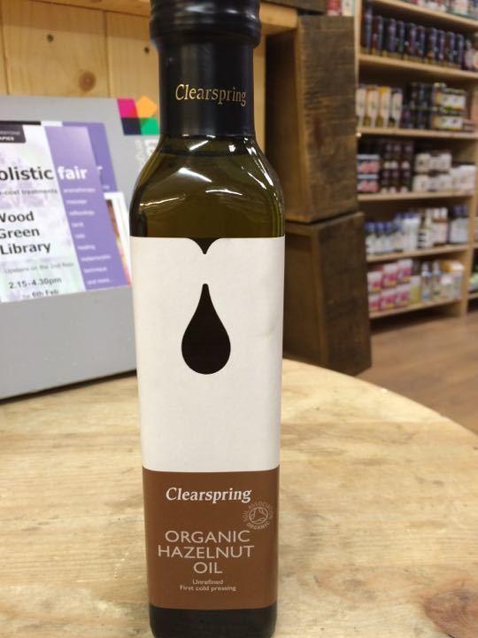 organic hazelnut oil (250ml)