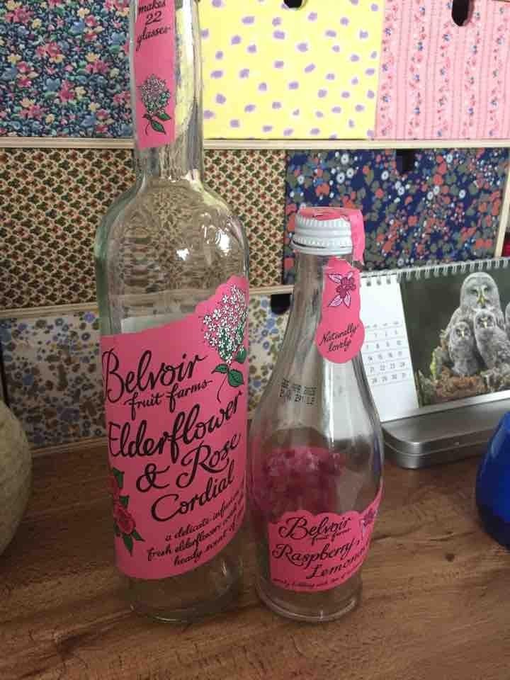 Pretty bottles!