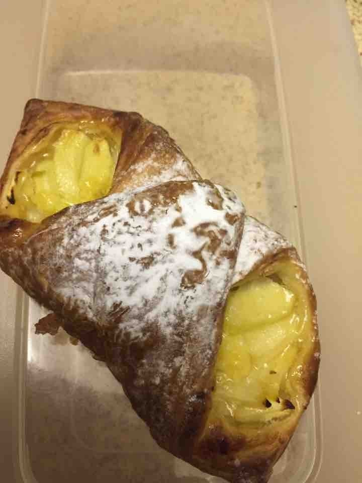 Apple Pastry Kindly donated by Feya Cafe